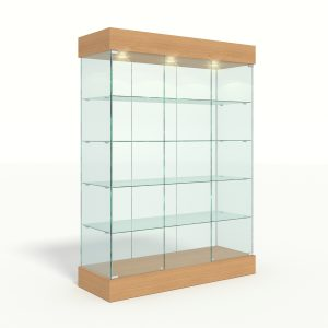Стеклянные витрины, торговые прилавки, ресепшен